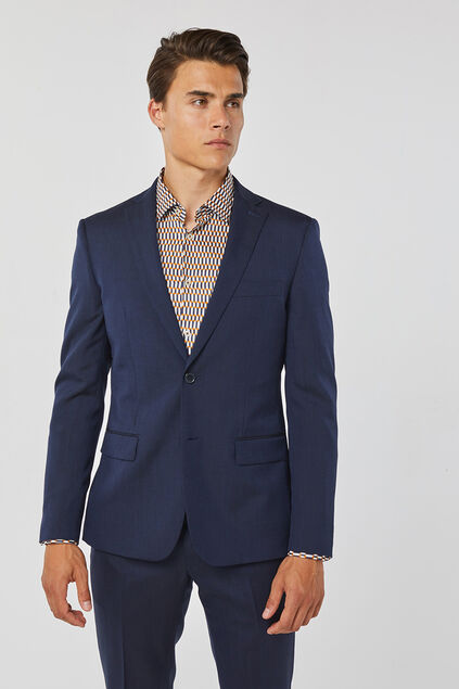 BLAZER SLIM FIT TOM HOMME Bleu marine