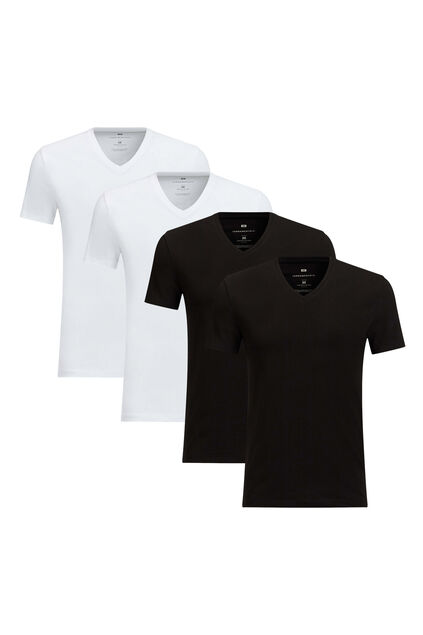 T-shirt homme basic pack de 4