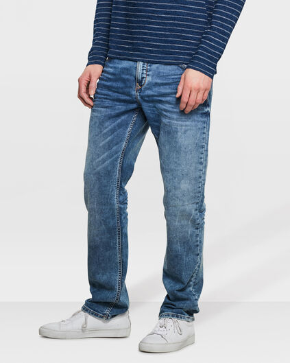 JEANS RELAXED TAPERED JOG DENIM HOMME Bleu
