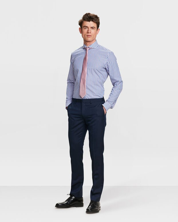 CHEMISE REGULAR FIT FINEST COTTON HOMME Rose clair
