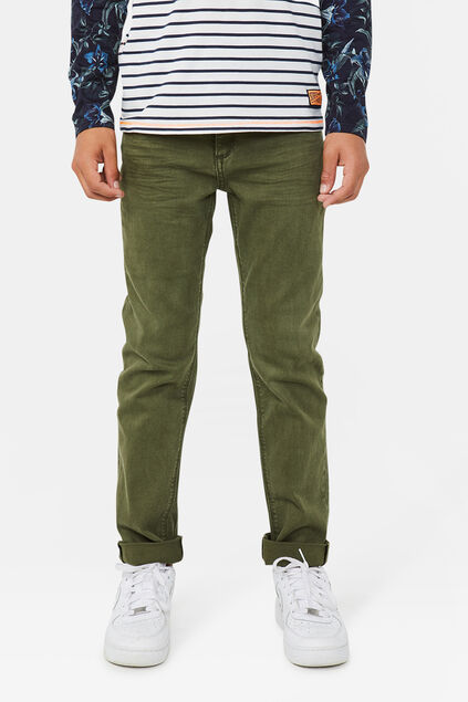 Jeans denim regular fit garçon Vert