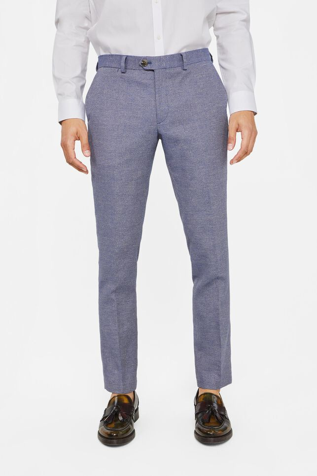 Pantalon slim fit Arlington homme Bleu gris