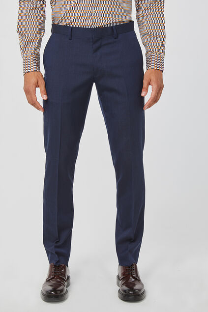 PANTALON SLIM FIT TOM HOMME Bleu marine