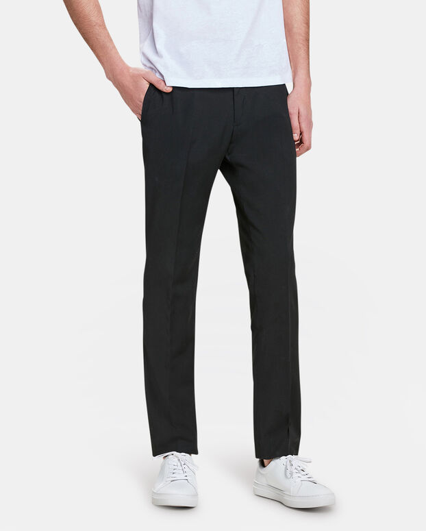 PANTALON SLIM FIT HOMME DALI Noir