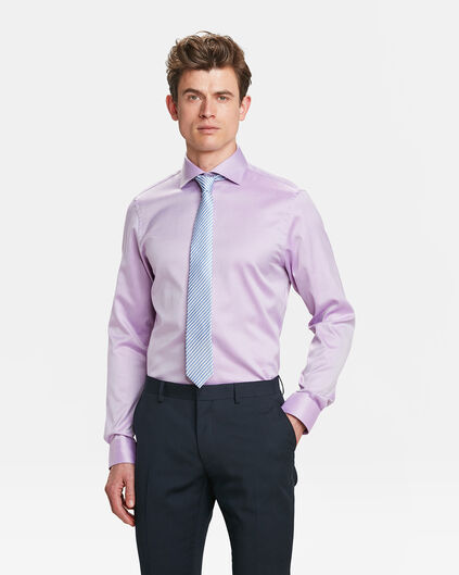 CHEMISE REGULAR FIT FINEST COTTON HOMME Lavande