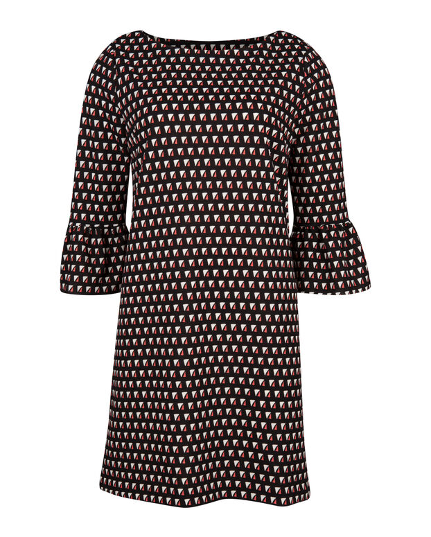 ROBE GRAPHIC PRINTED FEMME Noir
