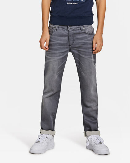 JOG DENIM SLIM FIT GARÇON Gris
