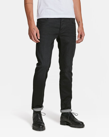 JEANS SLIM TAPERED COMFORT STRETCH HOMME Noir