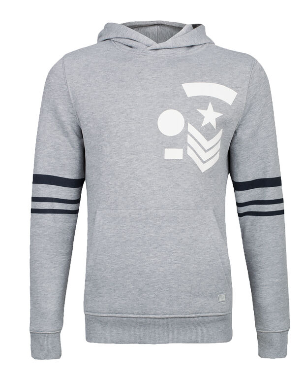 SWEAT-SHIRT ARMY HOODED HOMME Gris
