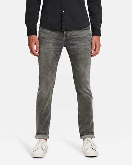 JEANS SLIM TAPERED SUPER STRETCH HOMME Gris