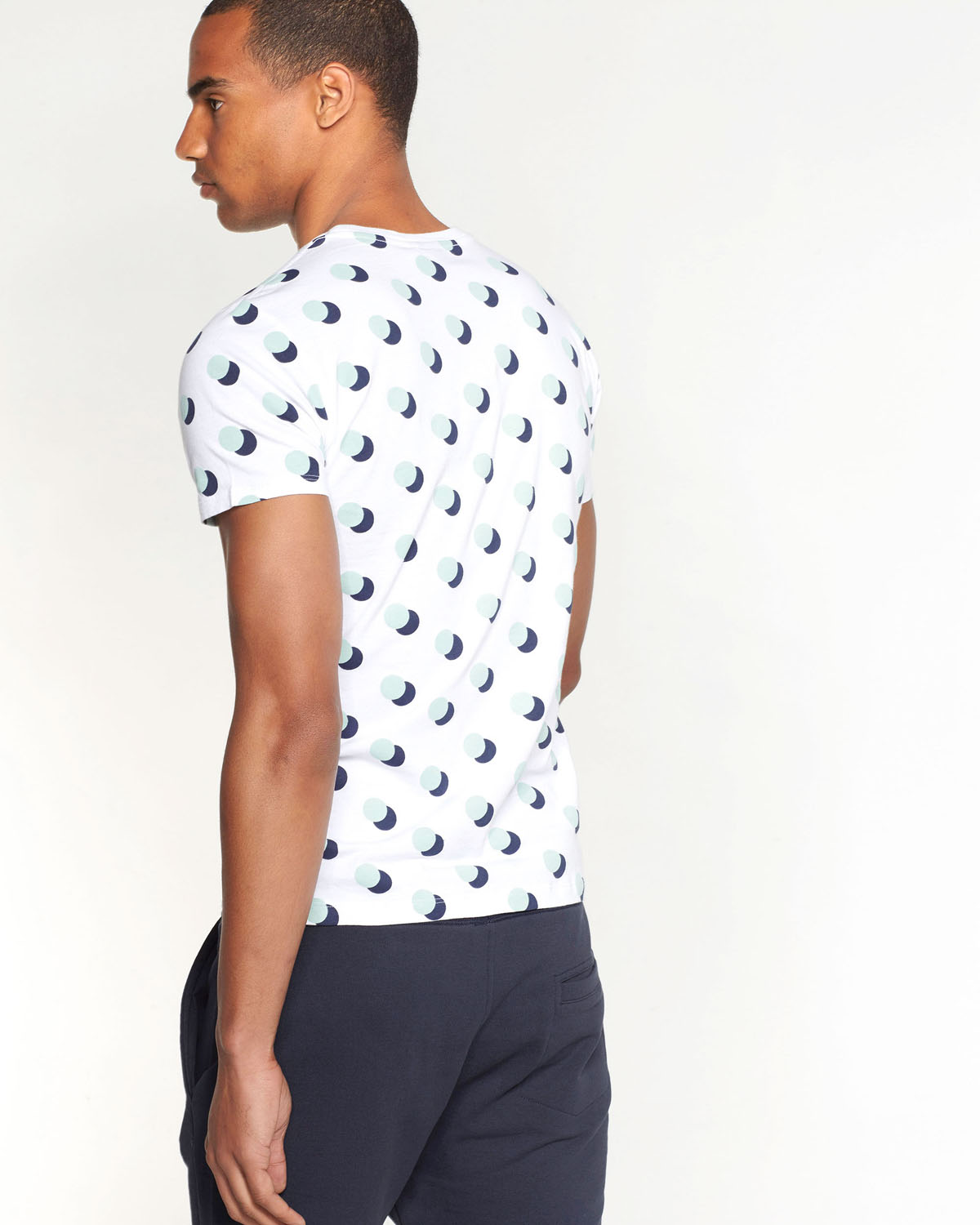 T SHIRT A POIS HOMME | 78871441 WE Fashion