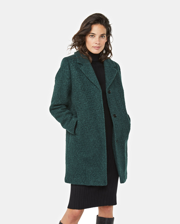 Manteau bouclé femme | 94707656 WE Fashion