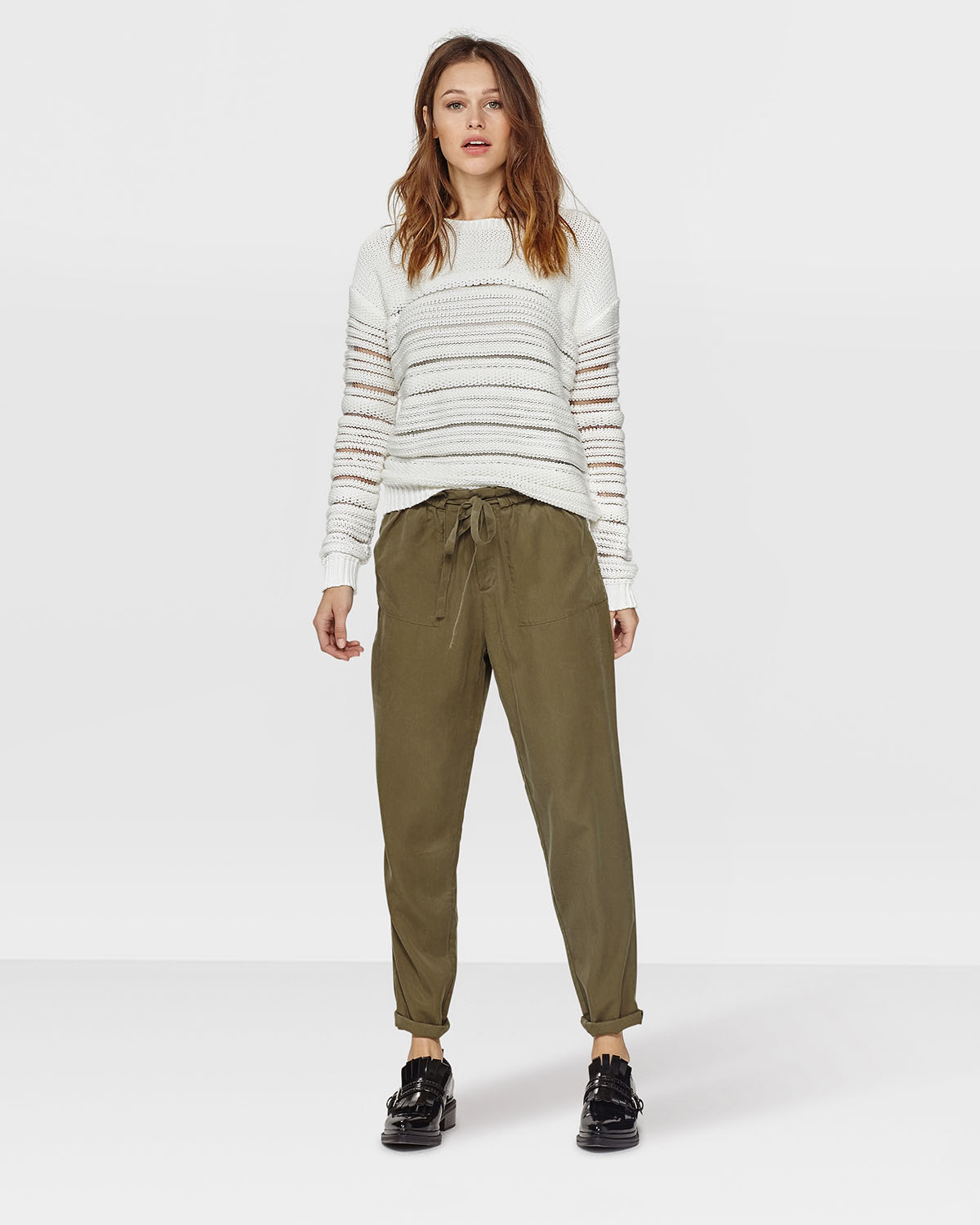 Pantalon Relaxed Fit Femme 79112826 We Fashion