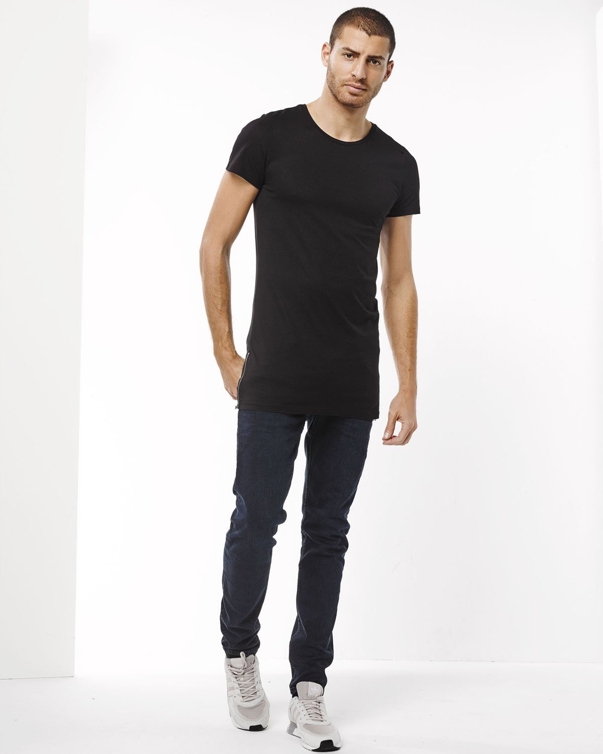 t-shirt homme extra long