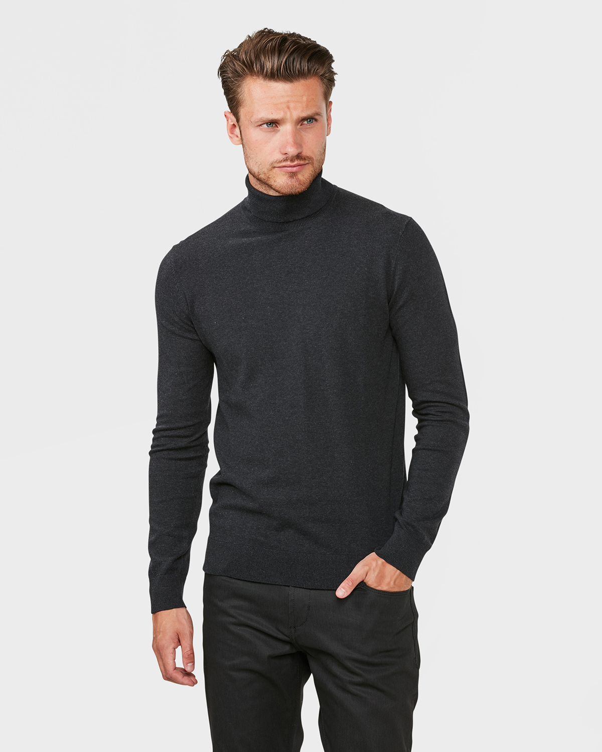 magasin d'usine 8215f 3ca5c PULL A COL ROULE HOMME | 79422697 - WE Fashion