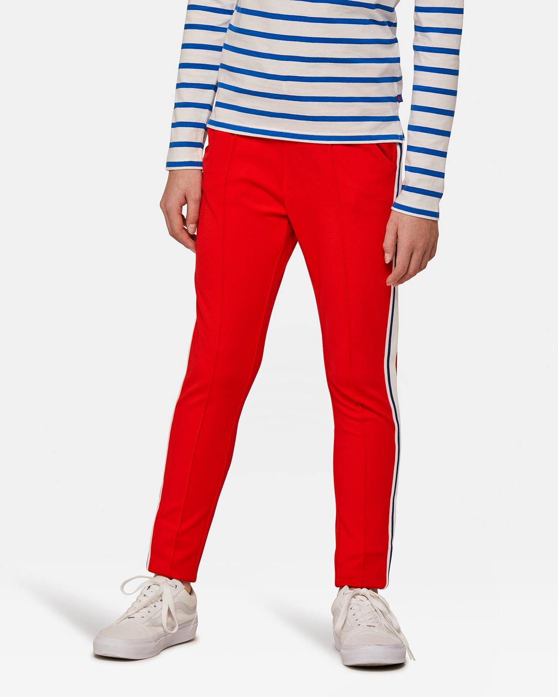 Pantalon de jogging sporty stripe fille Rouge vif ... edfd596a609