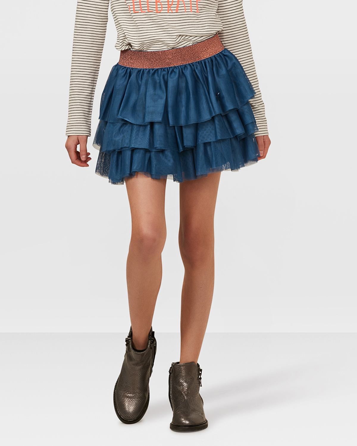 JUPE TULLE VOLANT FILLE   79571647 - WE Fashion 9d3a44256b52