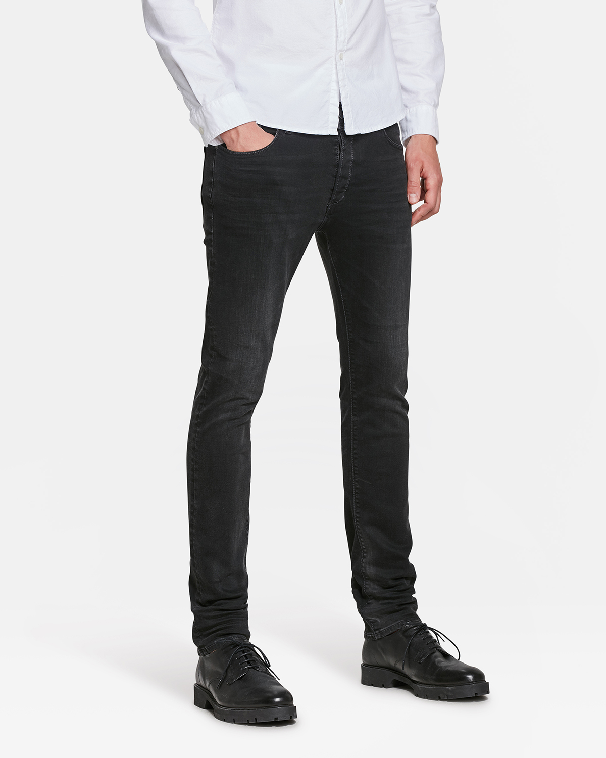 97c3ca83d JEANS SKINNY TAPERED SUPER STRETCH HOMME | 80065999 - WE Fashion