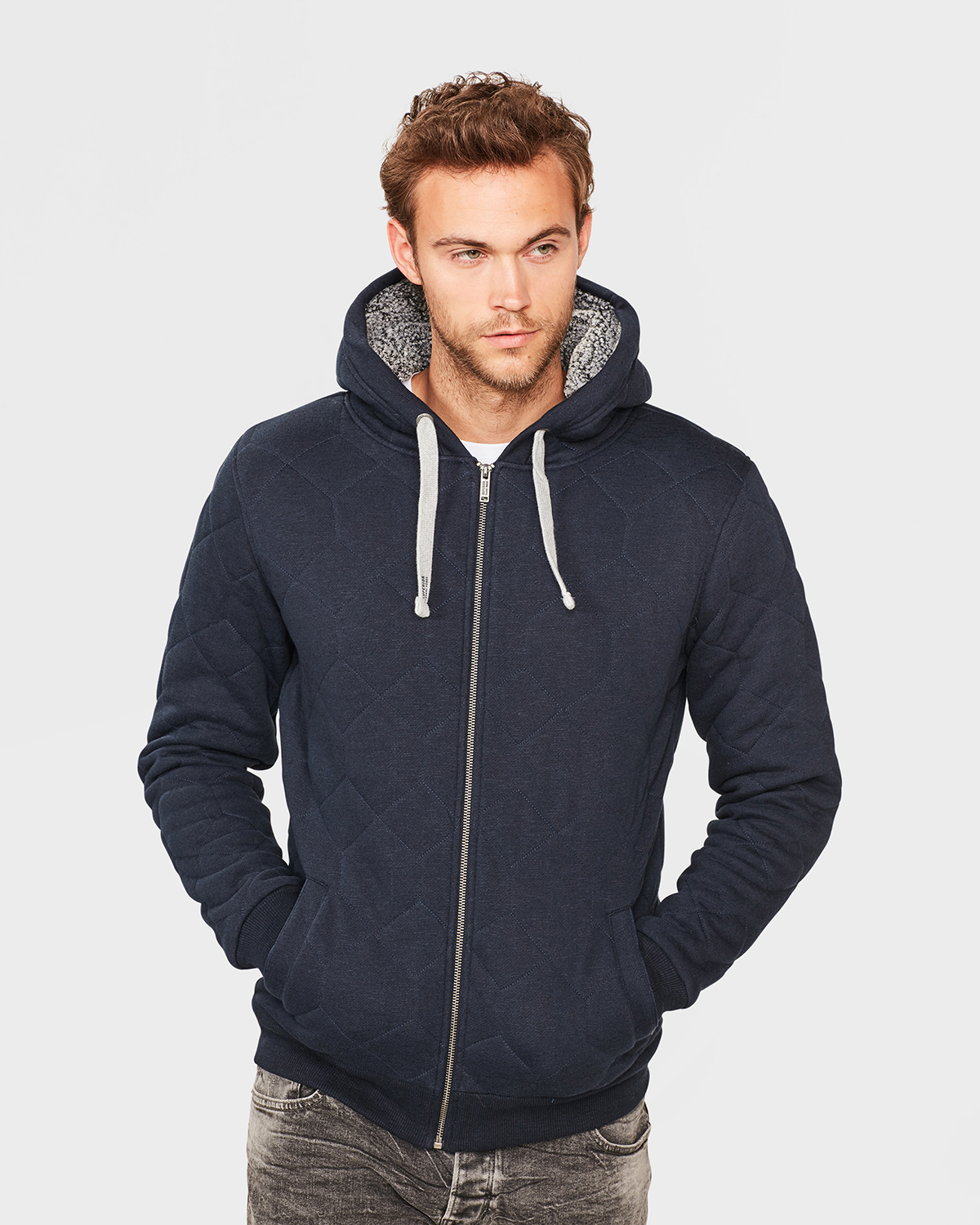 f0b7739144d4b VESTE QUILTED SWEAT HOMME   80066644 - WE Fashion