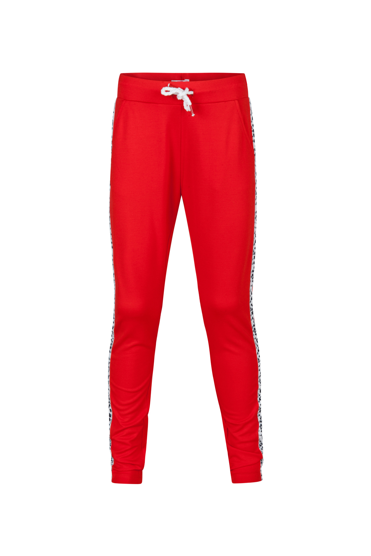... Pantalon de jogging sporty stripe fille Rouge ... 43885923a4c