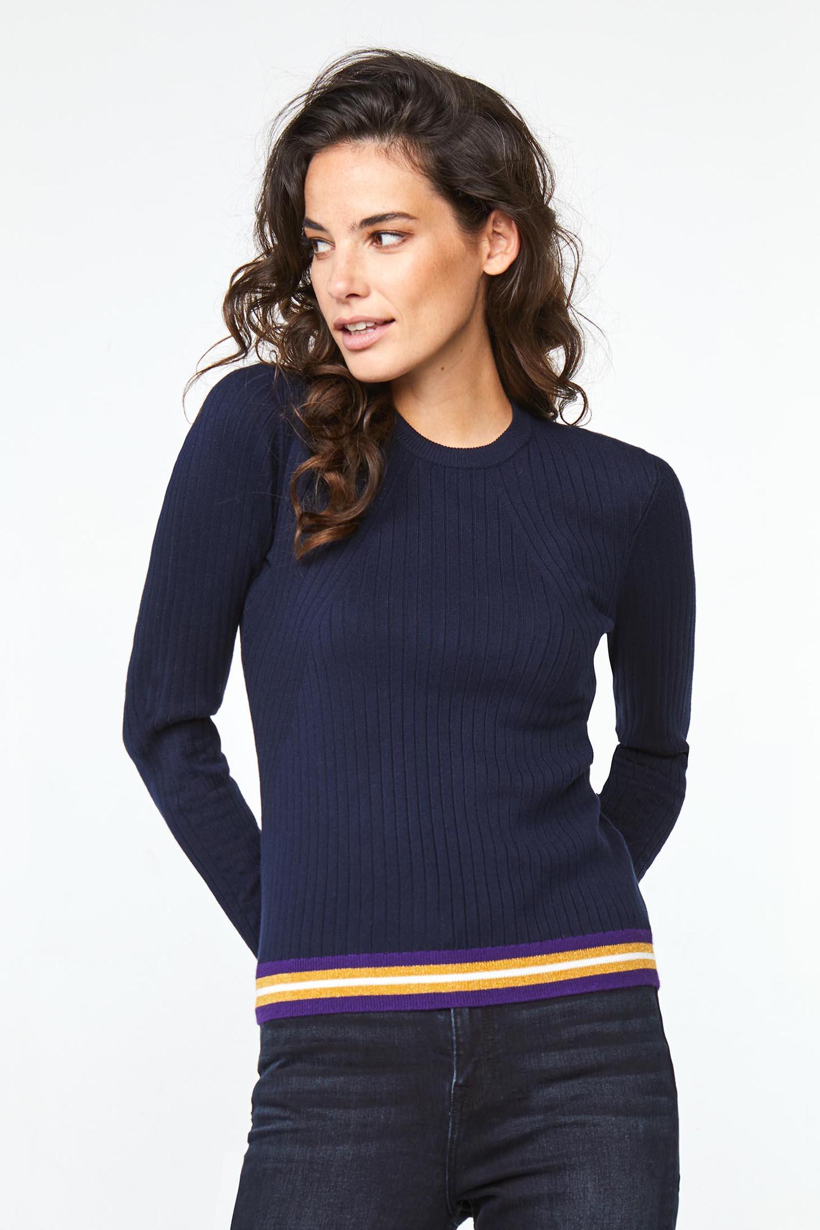 meilleur site double coupon la moitié Pull côtelé femme | 94872941 - WE Fashion