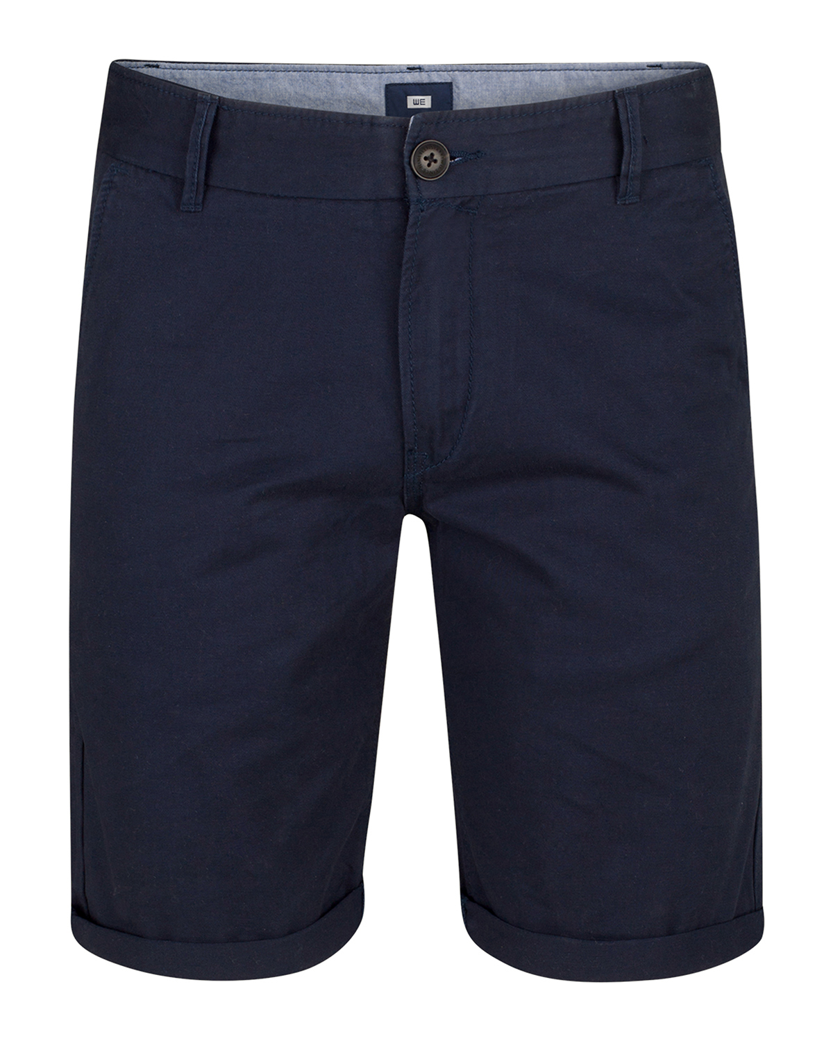 SHORT REGULAR FIT HOMME_SHORT REGULAR FIT HOMME, Bleu marine