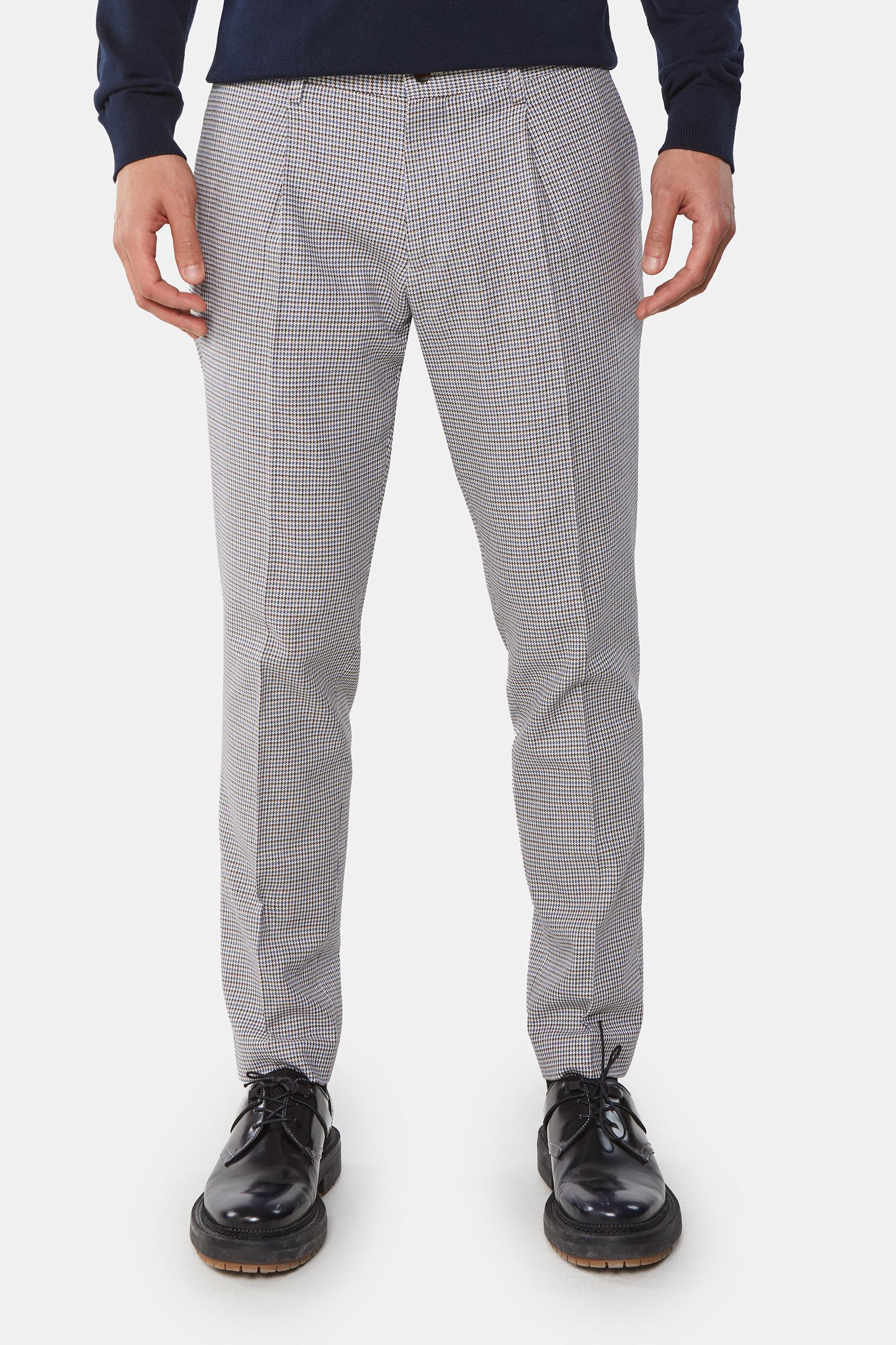 Costume à motif pied de poule homme | 94997378_0421_set_suit WE Fashion
