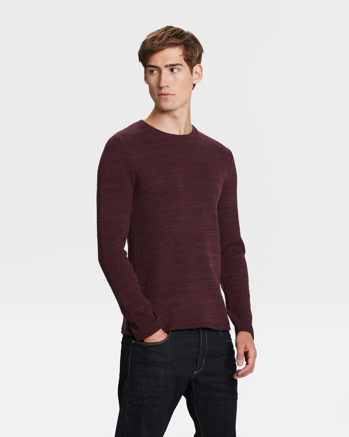 4f7a2eb1a6883 PULL STRUCTURE HOMME Aubergine · PULL STRUCTURE HOMME Aubergine ...