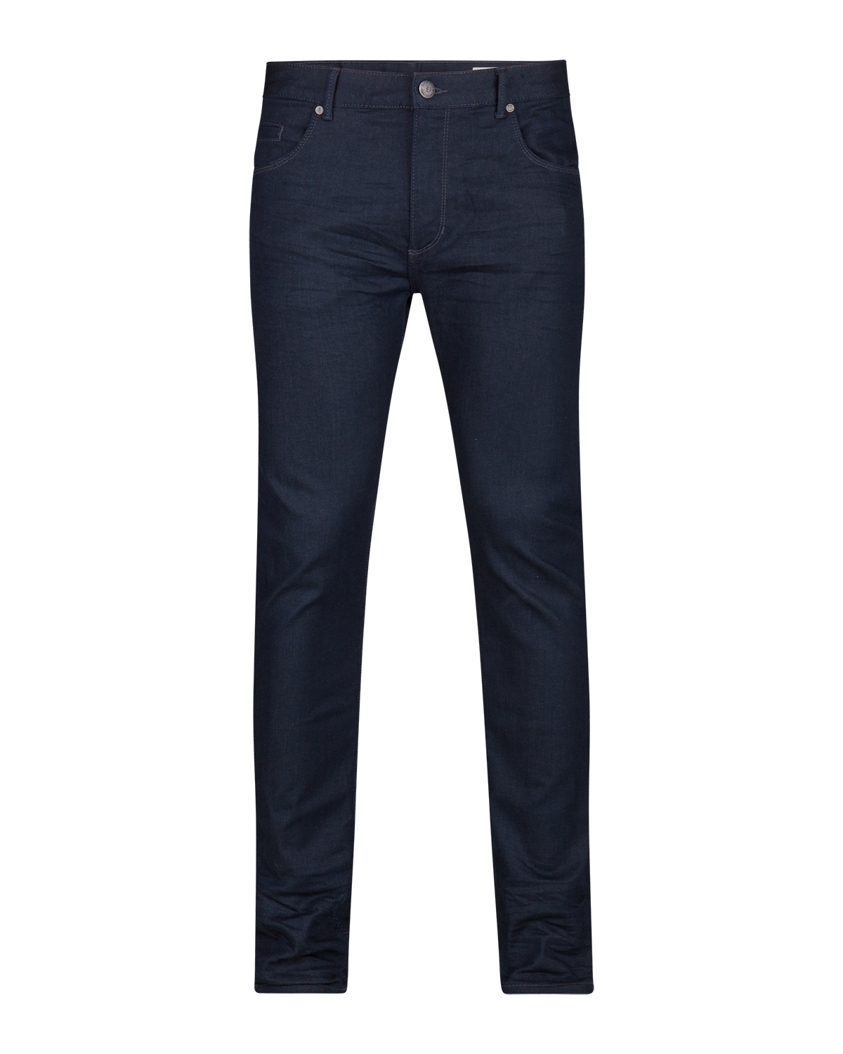 JEANS SKINNY TAPERED SUPER STRETCH HOMME_JEANS SKINNY TAPERED SUPER STRETCH HOMME, Bleu marine