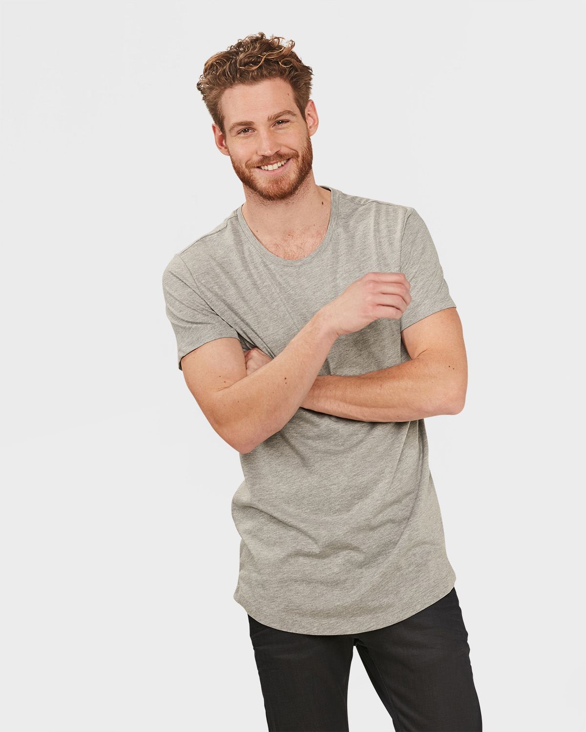 T-SHIRT EXTRA LONG FIT HOMME | 79798662 -